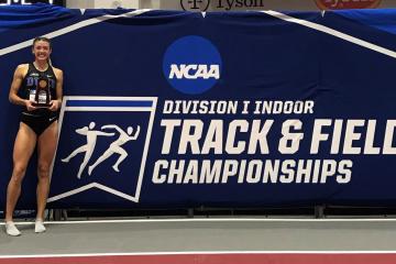 Erin Marsh at NCAA track