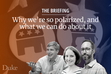 briefing on political polarization