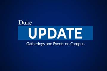 statement on loosening of event restrictions