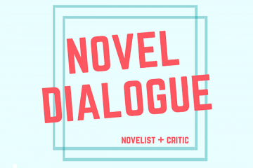 Novel Dialogue podcast graphic
