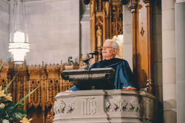 Charles Campbell in Duke Chapel