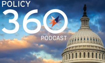 Policy 360 podcast logo