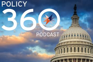 Policy 360 podcast logo