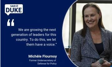 Michele Flournoy on Leadership