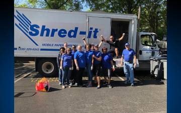 The Duke Credit Union will host a shred event from 9 a.m. to 12:30 p.m. on April 13.