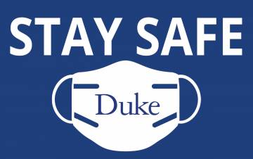 Face masks or coverings must be worn by all employees working on Duke's campus when in the presence of others and in public settings where social distancing measures are difficult to maintain.
