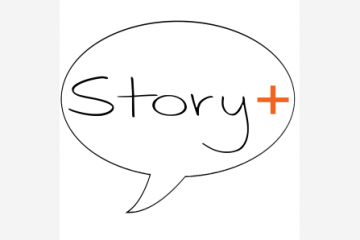 story plus logo