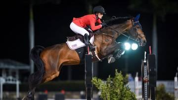 Jessica Springsteen horse jumper