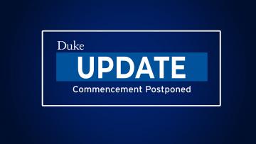 update: commencement postponed