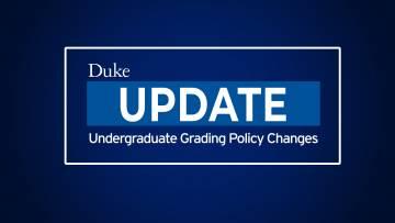 update regarding grading policy changes