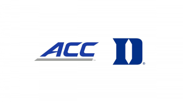 ACC and Duke athletics logos