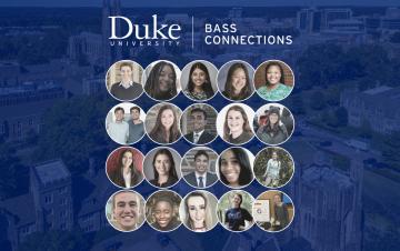 senior Bass Connections Scholars