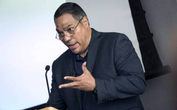 Eduardo Bonilla Silva has toured the country and made international stops in Brazil, Columbia, England and France to give talks on racism and diversity. Photo by Duke University Office of News & Communications.