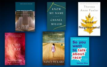 Staff and faculty recommended books to add to your summer reading list.