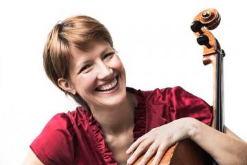 Cellist Caroline Stinson