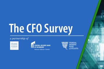 graphic for the CFO survey