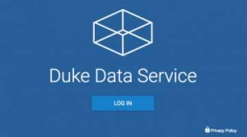 Duke Data Service logo