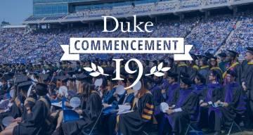 Duke Commencement 2019