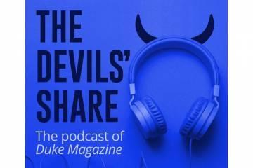 Duke Magazine podcast logo