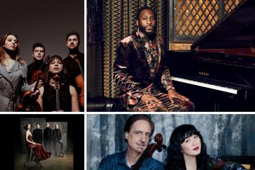 Duke Performances artists for the new season