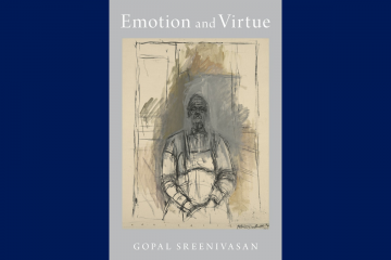 book cover Emotion and Virtue