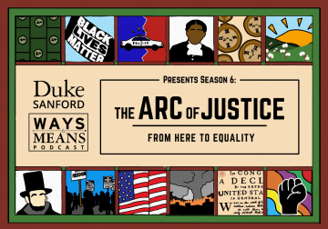 Arc of Justice podcast logo