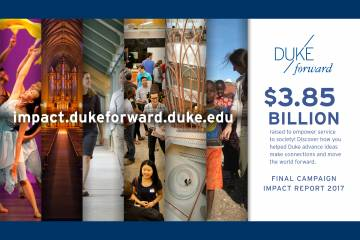 Duke Forward Campaign Impact Report