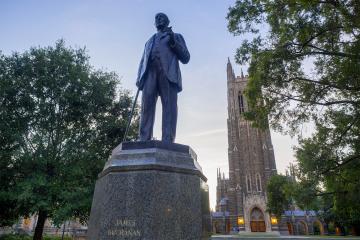 JB Duke Statue