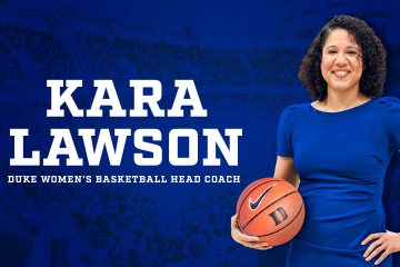New women's basketball coach Kara Lawson