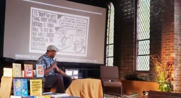 cartoonist Keith Knight