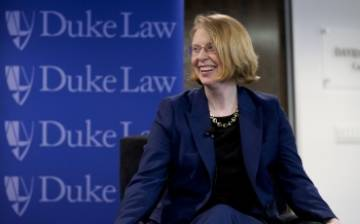 Dean Kerry Abrams moderated a panel of law school deans