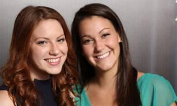 2014 Truman Scholars Jamie Bergstrom and Dominique Beaudry