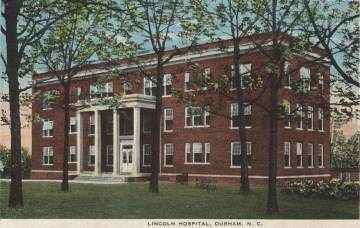 Postcard Image of Lincoln Hospital