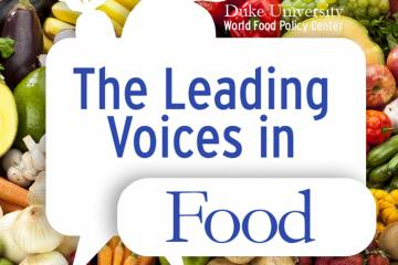 Leading Voices in Food podcast logo