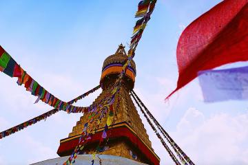 The Duke Global Baton in Nepal