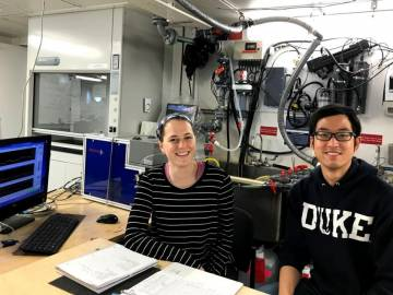 PhD Students Take Part in Research Cruise Studying Ocean Microbes' Role in Climate