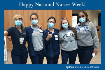 photo of. Duke Nurses