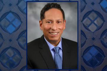 Vincent Guilamo-Ramos, the new dean of nursing