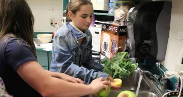 Through our Farm to Table Food initiative, we hope to address food insecurity through high-quality meals and education about local foods.