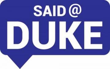 Said@Duke