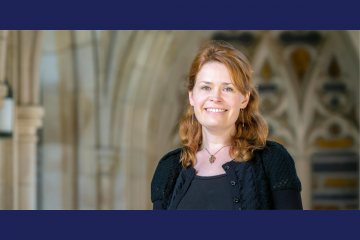 Duke University Ph.D. candidate Elizabeth Schrader (Photo: Megan Mendenhall)