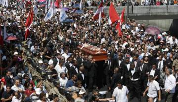 The funeral of former Peru President Alan Garcia.