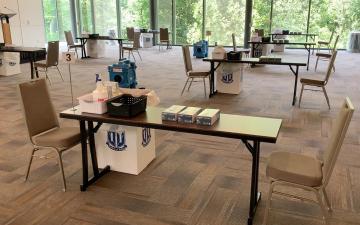 testing center in Penn Pavilion