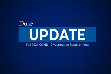 graphic of student vaccine requirements for the fall