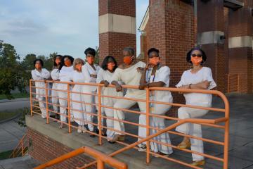 Women leaders at Hayti Heritage Center