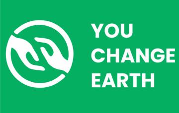 You Change Earth logo